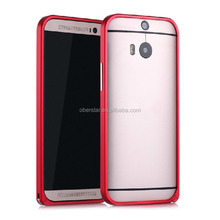 For HTC one M7 mobile phone aluminum alloy frame bumper case cover For HTC