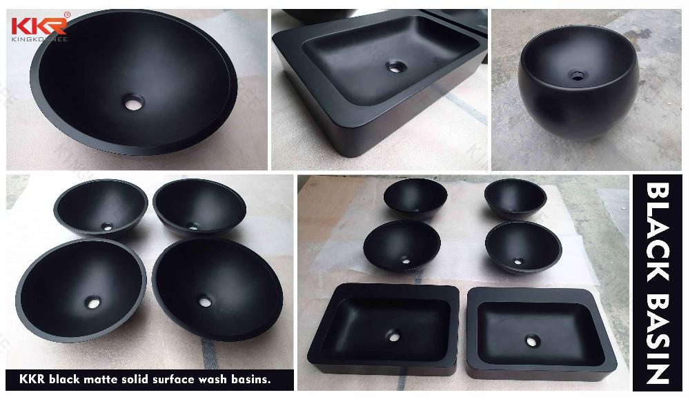 black basin