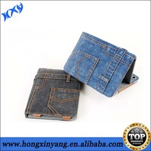 Cowboy Jeans Denim Folio Case Pocket Stand for ipad
