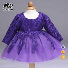 2017 Summer hot design latest beautiful flower girls velvet dress designs for flower girls L8812ZX