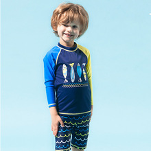HT-LBS Hot Sale Nice Best kids floating swimwear Newest boys Swimwear Kids Swimsuit One Piece Baby