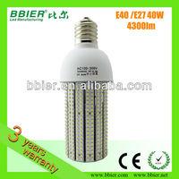 E40/E27 Mogul and Mediun base 40W led torch light, LEDwarehouse lamp
