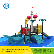 Sales promotion exquisite pirate ship outdoor kids playground for children