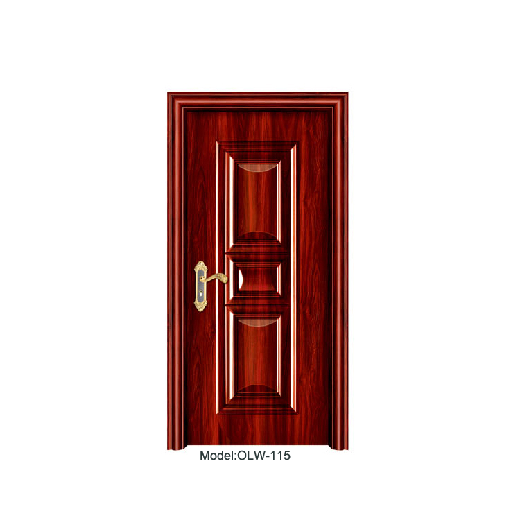 import from china finished wood grain chinese antique aluminum entry french door