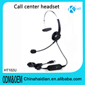 Call center office online communication tools call center 3.5mm RJ11 adapter headset