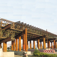 Q235/Q321/Q345 steel structure bailey bridges with competitive price