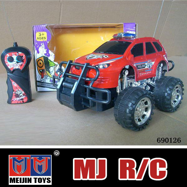 2014 new toy products plastic rc jeep