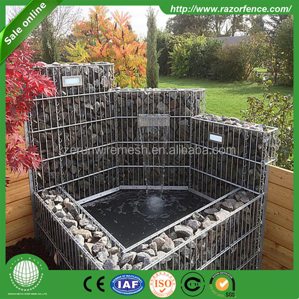 High visibility decorative Stone Cage For Retaining Wall Gabion Basket