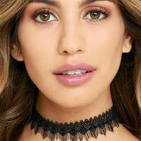 Sexy Tassel Style Choker Necklace Fashion
