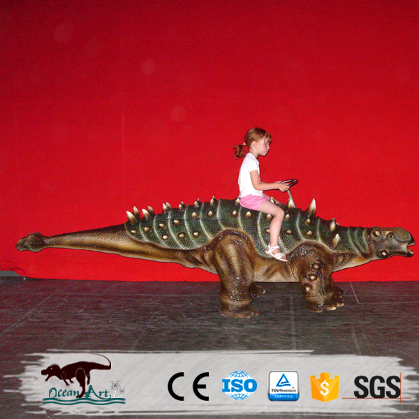 OA6182 Amusement Park Rides Of Walking Dinosaur Ride For Kids To Have Fun