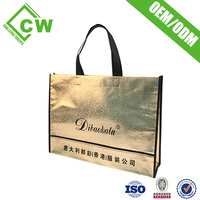 New Arrival Women Shopping Hand Bag Foldable Paper Recycle Nylon Material Foldable Shopping Bag
