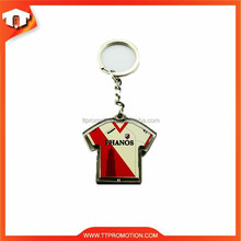 High quality manufacturer round clear acrylic keychain