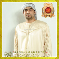 2015 perfect design and super quality islamic clothing Oman muslim men thobe