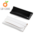 Portable Durable sunglasses case Soft sunglass leather case