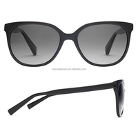 Big Black Cat Eye Fashion Women Sunglasses