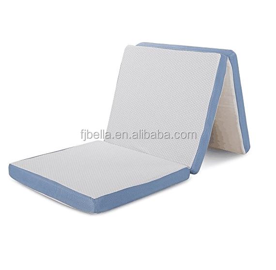 "Folding Mattress Memory Foam, Removable Cover, Single Size 27"" x 75"" x 3"" - Jozy Mattress | Jozy.net"