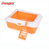 HOT SALE Cat and dog luxury toilet plastic,cat litter tray