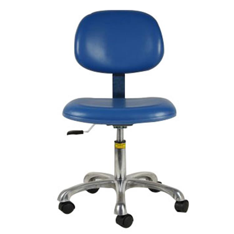 Height Adjustable Vinyl Leather industrial chair ESD Working Chair for Industrial