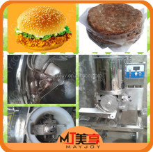 Mayjoy Hamburger Forming Production Line/High quality hamburger patty forming machine