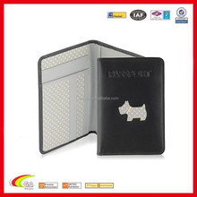 Clear Plastic Panel For Passport Cover Multiple Card Holder