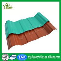 ultra weathering high quality color glass mosaic for upvc roof tile