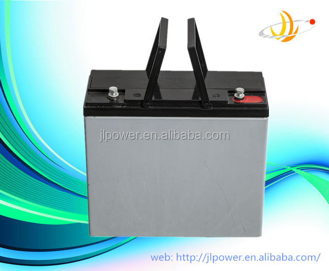 Factory price 6 dzm 20 electric bike battery, 12V20AH battery for solar use