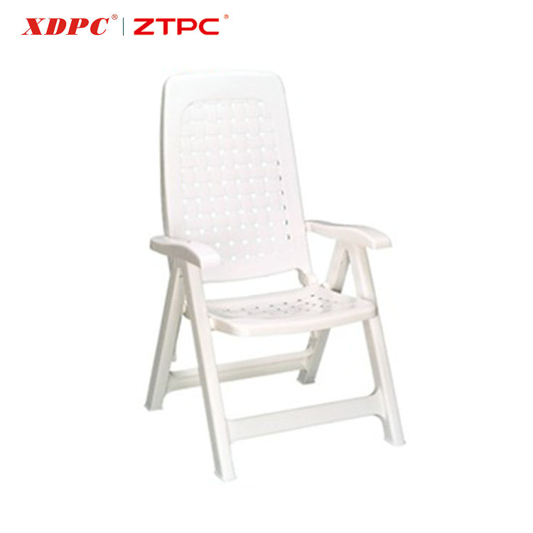 Factory Provide Directly Price Plastic Folding Chair With Backrest