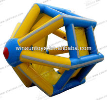 2013 summer water games inflatable wheel toy