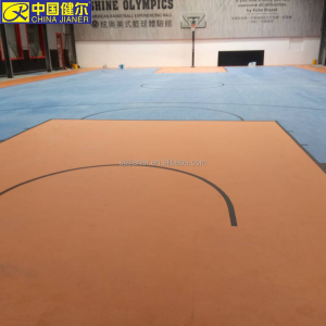 wood vinyl basketball floor