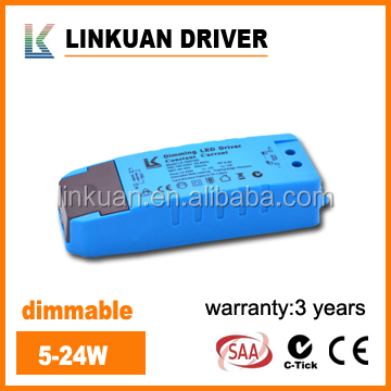 LKAD018D SAA Approval dimmable constant current 27-42v 10w led driver