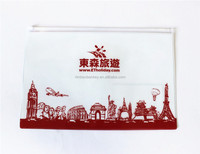 Plastic File Folder / Clear Plastic Document Holder for Promotion