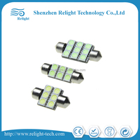 SMD5050 DC12V 28-44mm CANBUS interior car led dome light reading Light Lamp stable current