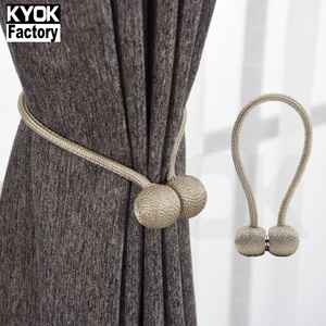 KYOK Modern Windows Wholesale Curtain Holdback Tiebacks and Tassels ,latest Curtain Tiebacks Magnetic Accessory
