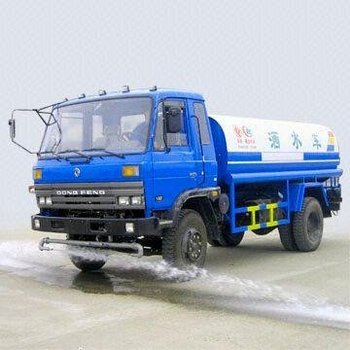 Water Tank Truck with 8,000 to 10,000L Fact Cubage and 90kph Maximum Speed