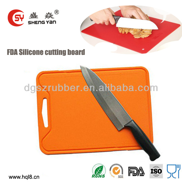 2014 new design flexible olive wood chopping board