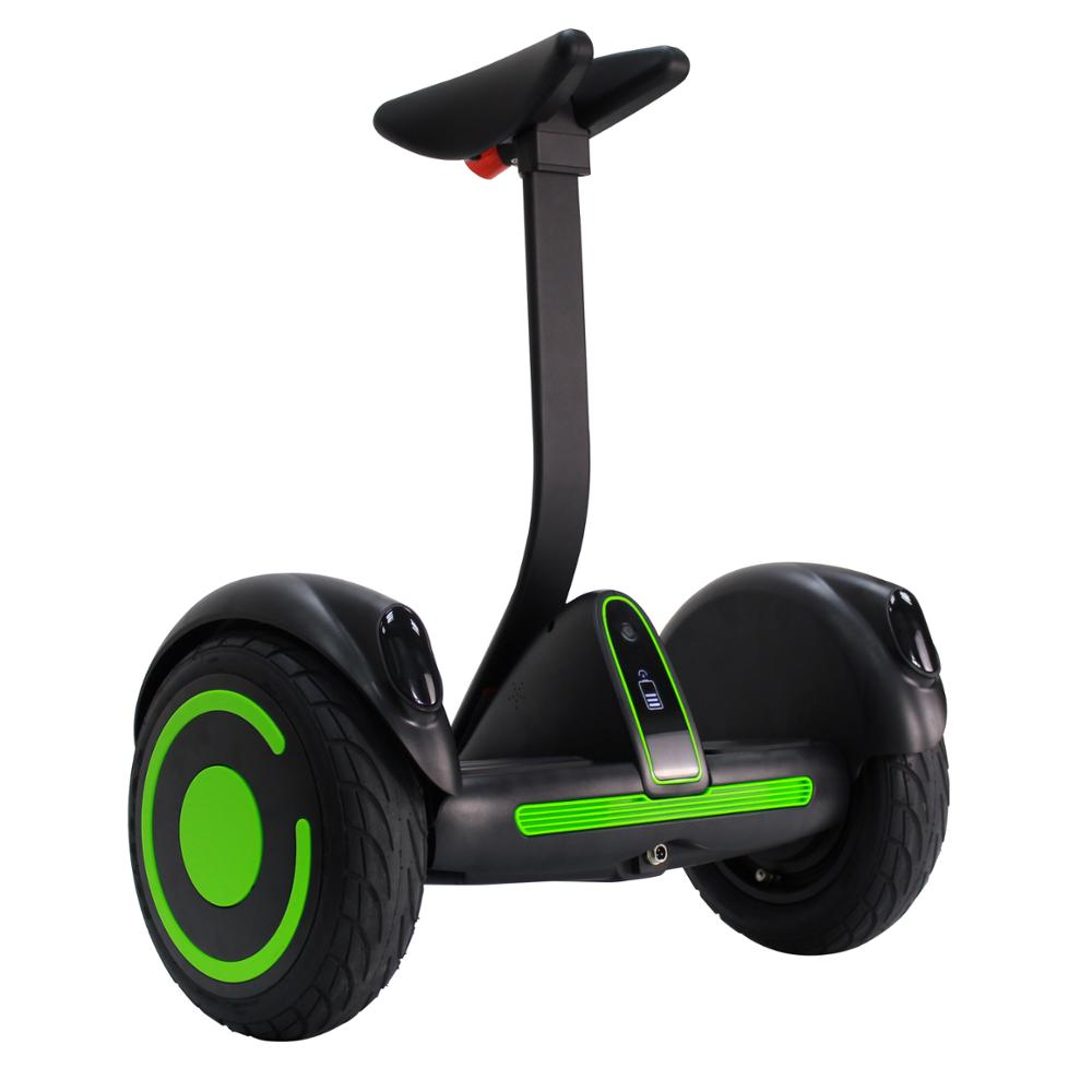New design coolest appearance stand up scooter air 2 wheel hover self balancing board 10 inch with short handle