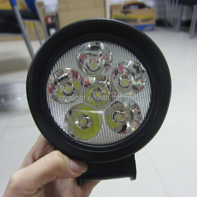 New Product! 18w led work lights auto motorcycle truck led working/driving light off road roof/tail/rear working lights