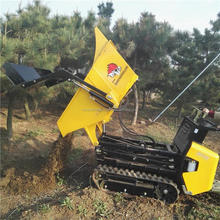Construction Building Machinery Self loading Mini Front Site Dumper for sale
