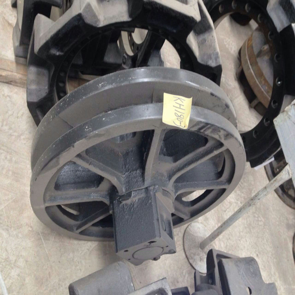 HITACHI KH150 crawler crane undercarriage parts idler wheel guide