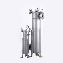 Stainless steel bag filter housing water purifier before ro candle system