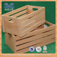 Antiguo barato inacabado hecho en china madera egg tray