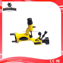 High quality rotary tattoo machine gun for lining and shading yellow