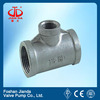 304 carbon steel pipe fitting butt welded equal tee/reducing tee a234wpb with CE certificate