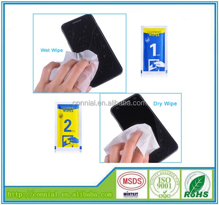 China supply high quality screen wipes with good price