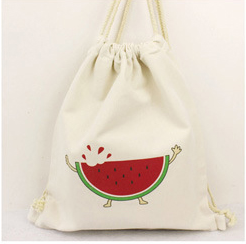 High Quality Cotton Linen Drawstring Shoe Bag For Women