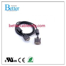 2015 Cheapest vga hd15 male to female cable
