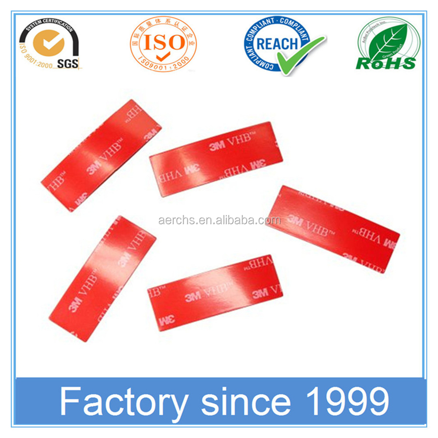 Strong Adhesion Double Sided Acrylic Foam High Bond VHB Tape