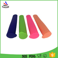 Private Label 2016 Fancy Cone Shape Decorative Silicone Popsicle Mold With Lid