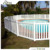 Fashion Design Top Quality Vinyi/PVC Swimming Pool Fence