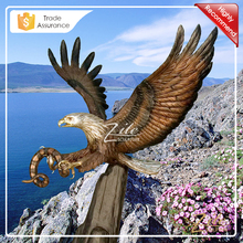 High Quality decoration bronze eagle for outdoor decoration